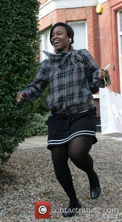 Rachel Hylton leaving the 'X Factor' house London,...