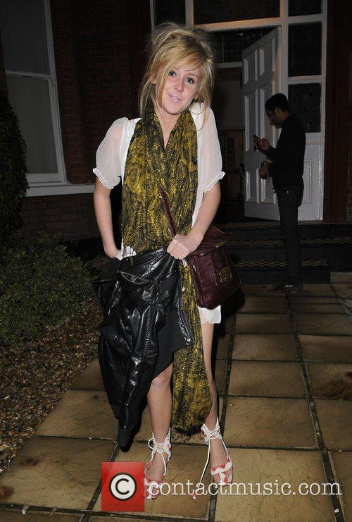 Diana Vickers arrives back at The X Factor...
