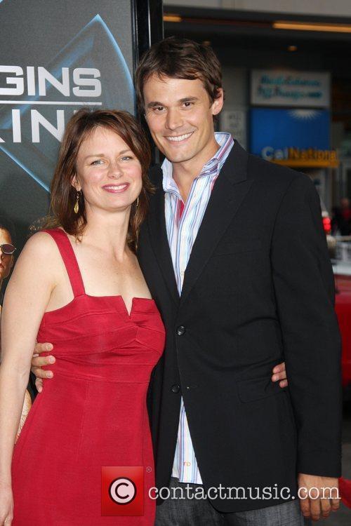 Mary Lynn Rajskub & Boyfriend Matthew Rolph X-Men...