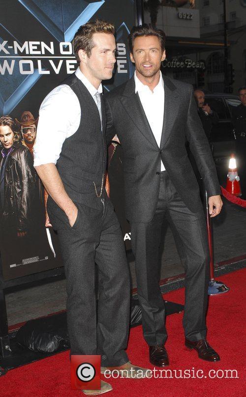 Ryan Reynolds and Hugh Jackman X-Men Origins: Wolverine...