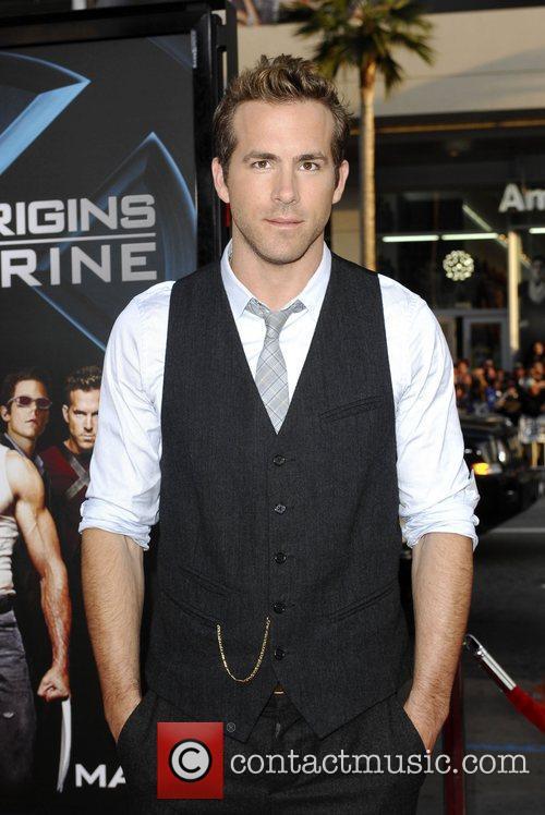 Ryan Reynolds and Wolverine 1