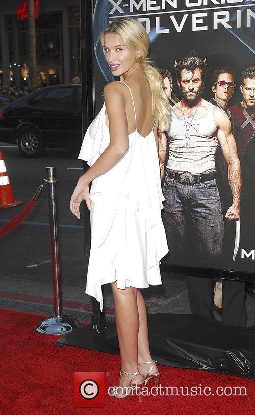 Tahyna Tozzi X-Men Origins: Wolverine screening at the...