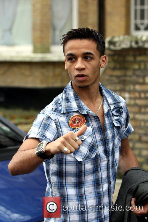 Aston Merrygold of JLS seen outside the X...