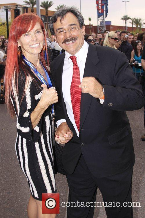Dan Harkins and Wife at the World premiere...
