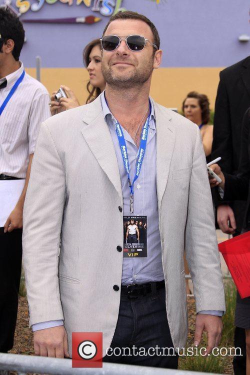 Liev Schreiber at the World premiere of X-Men...