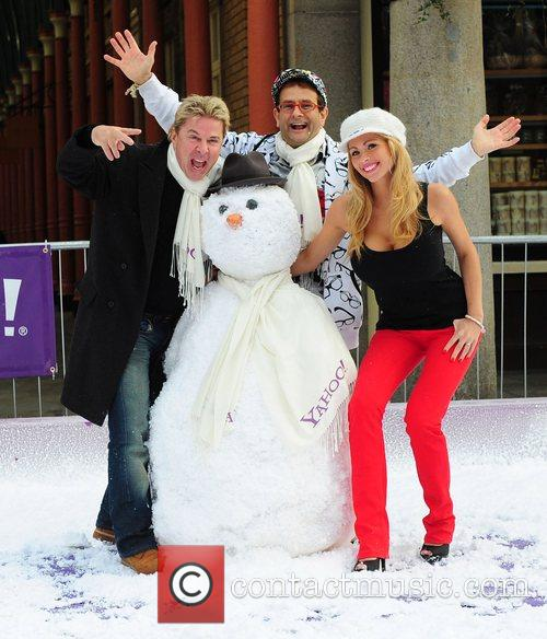 The Yahoo! Snowball Fight to get Londoners in...