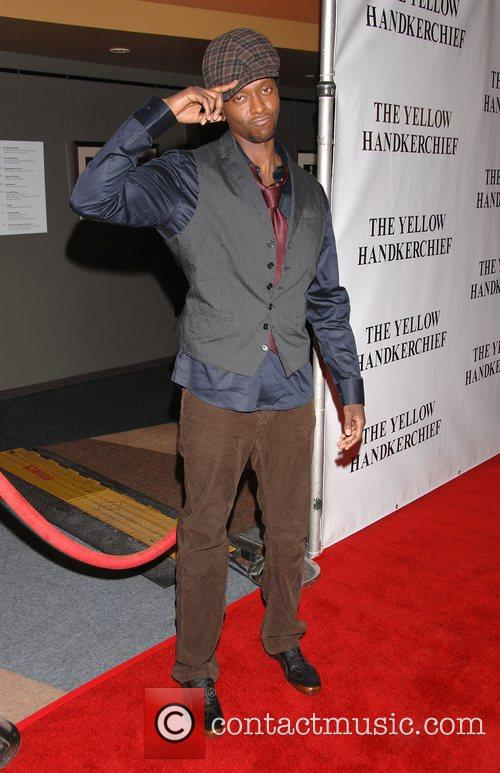 Edi Gathegi The Premiere of 'The Yellow Handkerchief'...