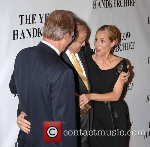 William Hurt, Arthur Cohn and Maria Bello 6