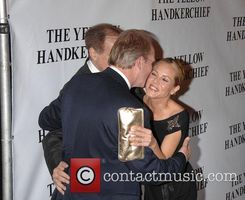 William Hurt, Arthur Cohn and Maria Bello 1