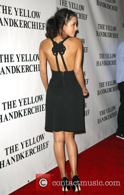 The Premiere of 'The Yellow Handkerchief' held at...