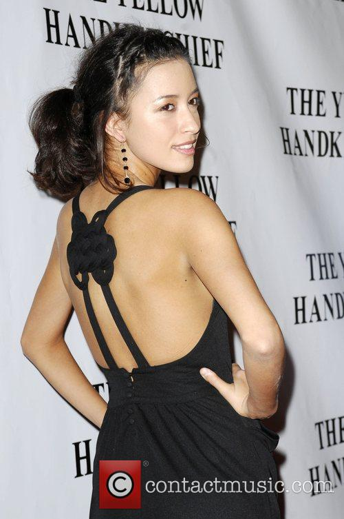 Christian Serratos The Premiere of 'The Yellow Handkerchief'...