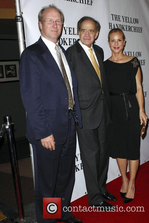 William Hurt, Arthur Cohn and Maria Bello The...