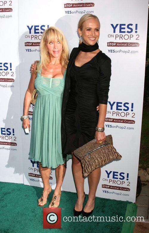 Cindy Landon and Jennifer Landon The 'Yes! on...