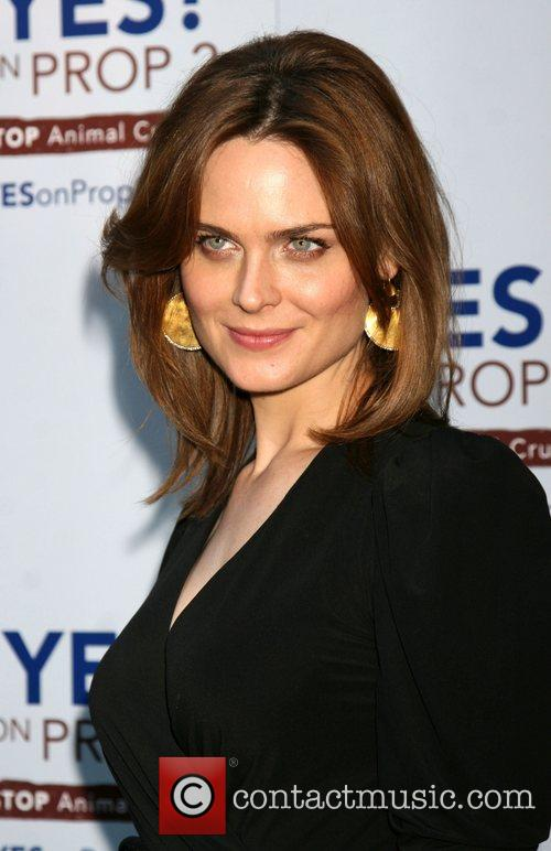 Emily Deschanel The 'Yes! on Prop 2 Campaign'...