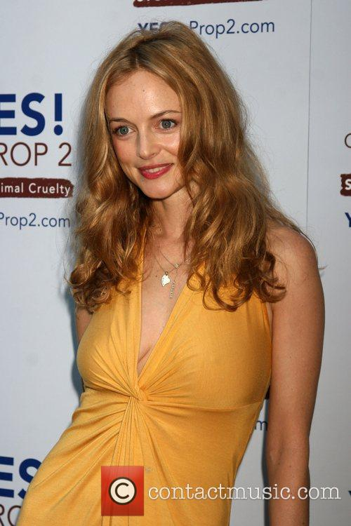 Heather Graham The 'Yes! on Prop 2 Campaign'...
