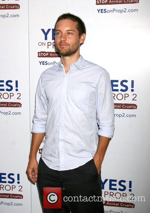 Tobey Maguire The 'Yes! on Prop 2 Campaign'...