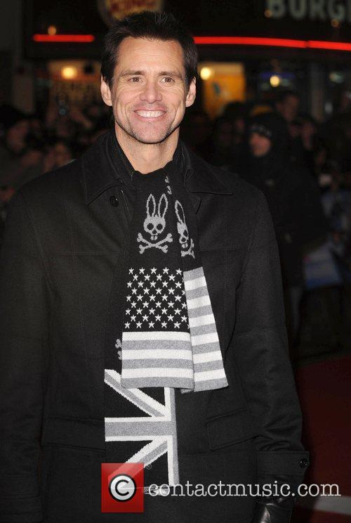 Jim Carrey The UK premiere of 'Yes Man'...
