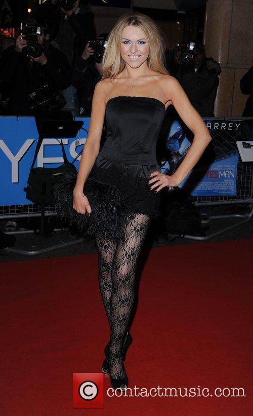 Zoe Salmon  The UK premiere of 'Yes...