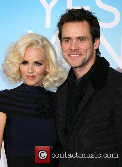 Jenny McCarthy and Jim Carrey Los Angeles Premiere...
