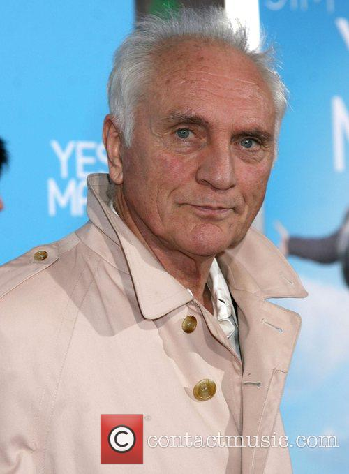 Terence Stamp Los Angeles Premiere of 'Yes Man'...