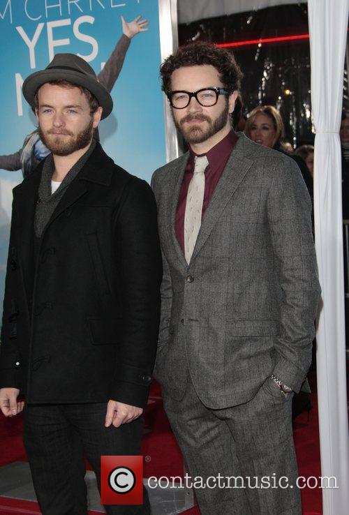 Chris Masterson and his brother Danny Masterson Los...