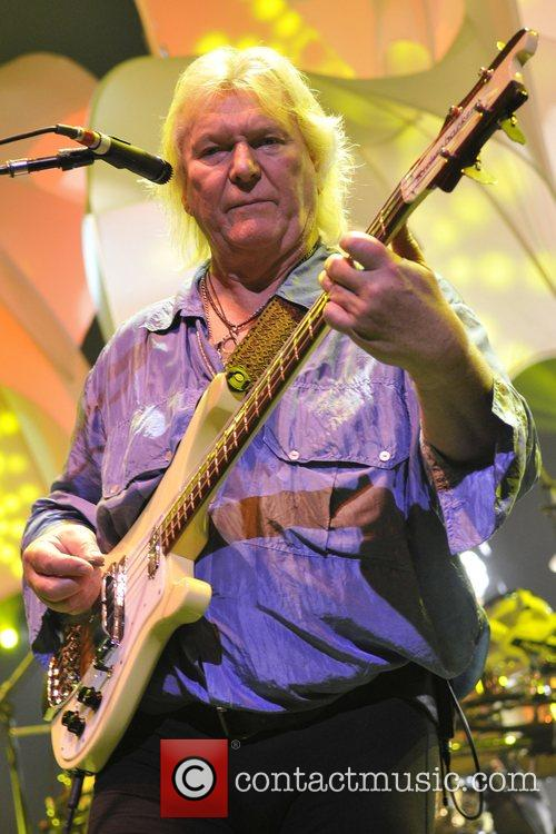 Chris Squire of the band Yes  performs...