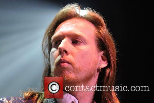 Oliver Wakeman of the band Yes  performs...