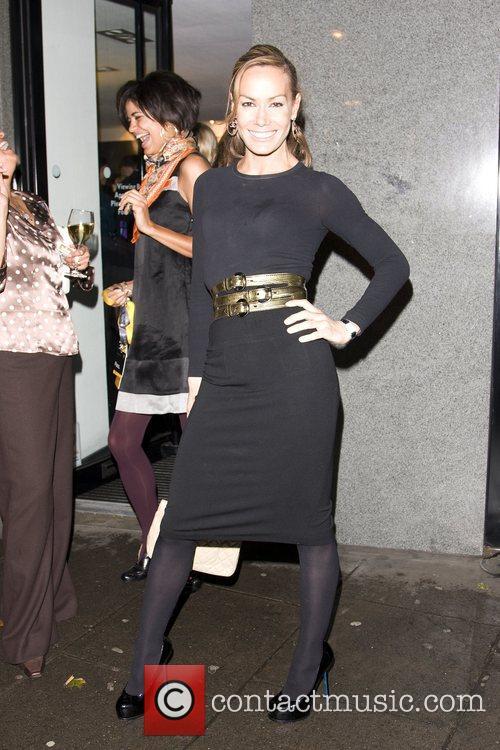 Tara Palmer-Tomkinson  attends the YOC London Launch...