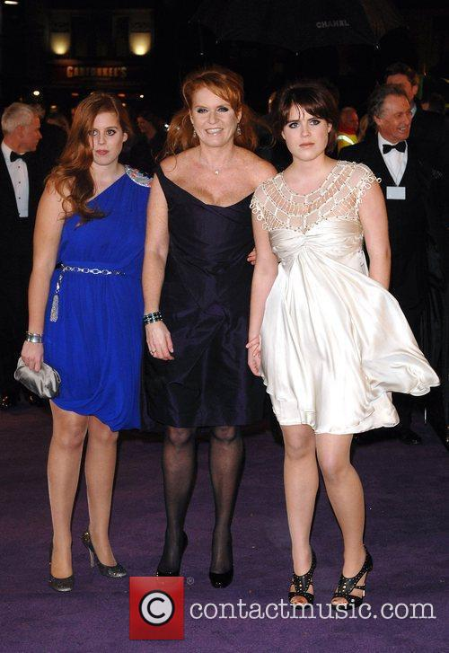 Princess Beatrice, Sarah Ferguson, Odeon Leicester Square and The Young Vic 1