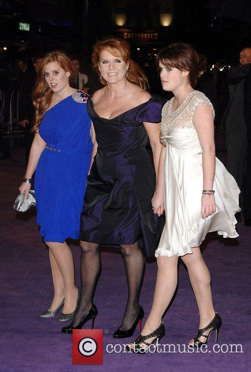 Princess Beatrice, Sarah Ferguson, Odeon Leicester Square and The Young Vic 3