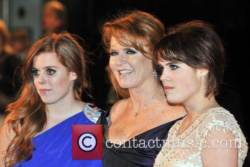 Princess Beatrice, Sarah Ferguson, Odeon Leicester Square and The Young Vic 4
