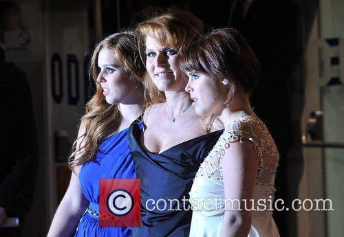 Princess Beatrice, Sarah Ferguson, Odeon Leicester Square and The Young Vic 7