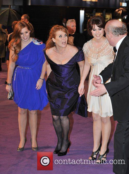 Princess Beatrice, Sarah Ferguson, Odeon Leicester Square and The Young Vic 6