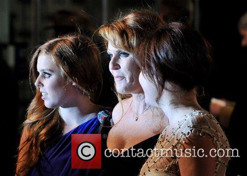 Princess Beatrice, Sarah Ferguson, Odeon Leicester Square and The Young Vic 9