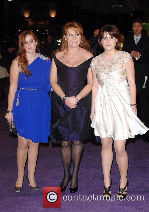 Princess Beatrice, Sarah Ferguson, Odeon Leicester Square and The Young Vic 10