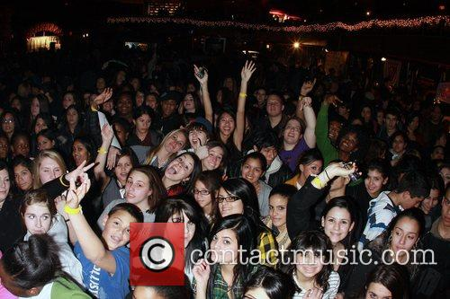 Z100 & Blackberry All Access Lounge 2008 at...
