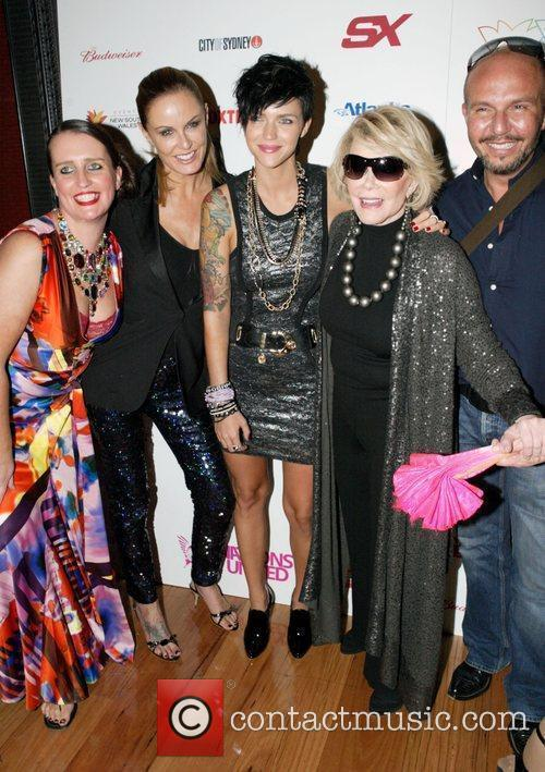 Pam Ann and Joan Rivers 1