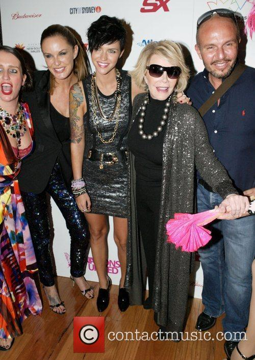 Pam Ann and Joan Rivers 2
