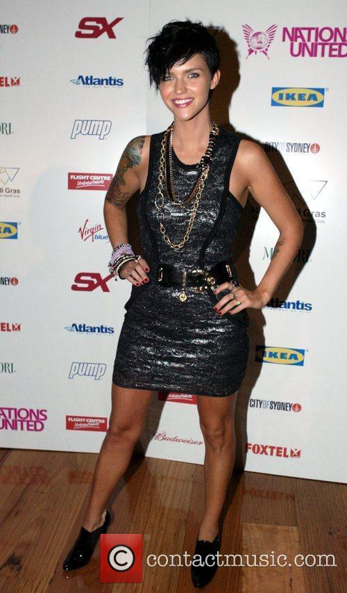 Ruby Rose The 2009 Mardi Gras VIP party...