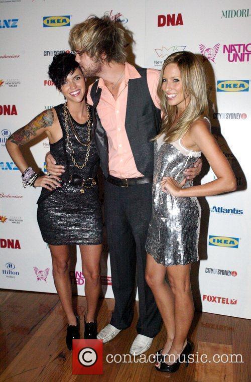 Ruby Rose, Danny Clayton, Renee Bargh The 2009...