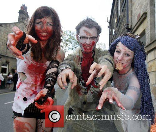 Leeds Zombie Film Festival held at the Cottage...