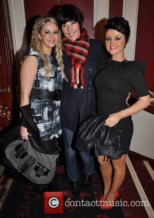 Ava Smyth, Jacqueline Fay and Erica Smyth 'Night...