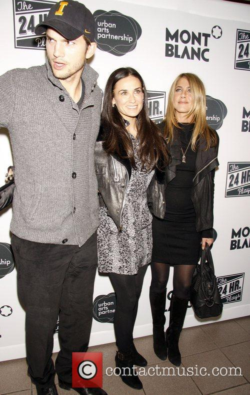Demi Moore, Ashton Kutcher and Jennifer Aniston 3