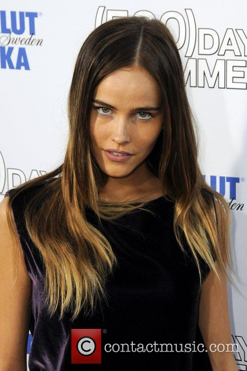 Isabel Lucas  Premiere of '500 Days Of...