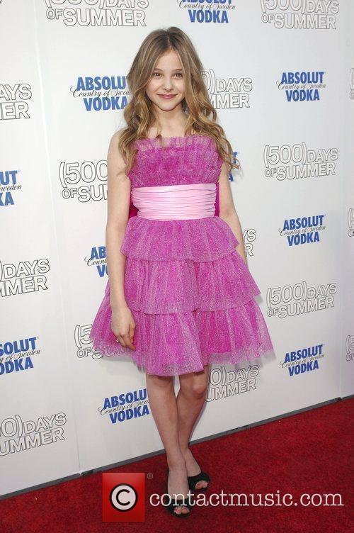 Chloe Moretz Premiere of '500 Days Of Summer'...