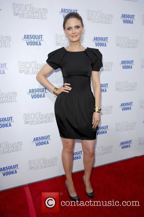 Emily Deschanel Premiere of '500 Days Of Summer'...