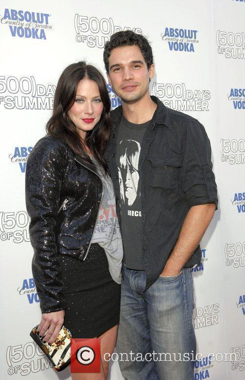 Lynn Collins and Steven Straight Premiere of '500...