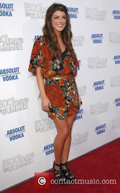 Shanae Grimes Premiere of '500 Days Of Summer'...