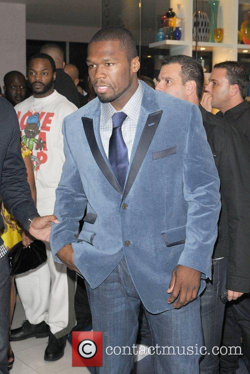 Rapper 50 Cent and 50 Cent