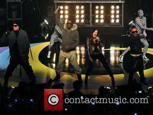 Black Eyed Peas BBC Switch Live held at...